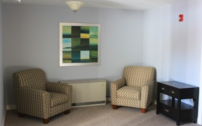 Signature Suites: Common area